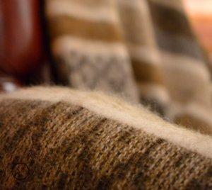 Качественные пледы из натуральной шерсти